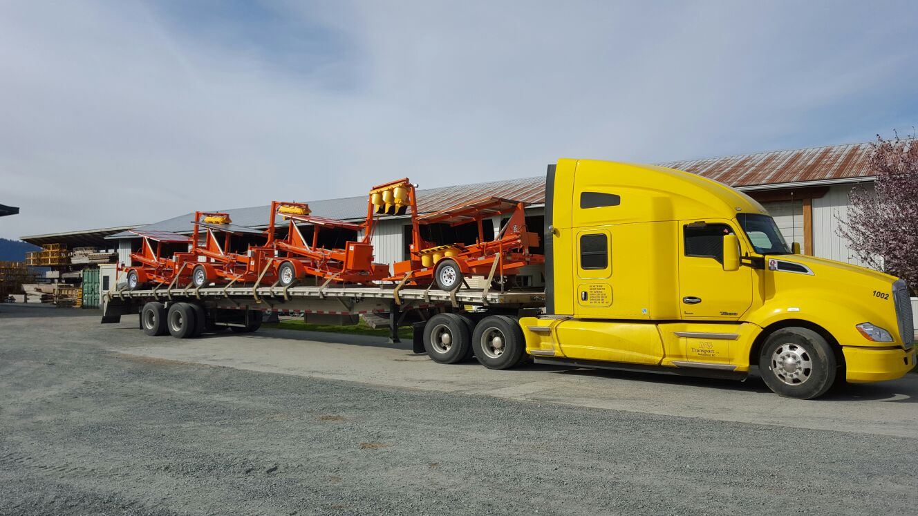 Mg Transport Truck 2,over size load,flat deck trucking